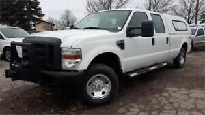 2008 Ford F250 XL 4x4, 4 Door, 8 Foot Box, Tow package, winch!