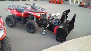 ATV Snowblowers $34 p/w OAC We have the BEST pricing around!!