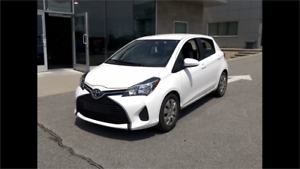 2015 Toyota Yaris LE auto AirCond bluetooth aux 1owner certified
