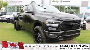 2019 Ram 1500 Sport LEATHER, 4X4 BCK-UP CAM LIFTW/TIRES $179W/K