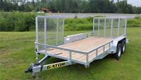 "Gator Galvanized 16ftx80"" Landscape trailer Truro Nova Scotia Preview"