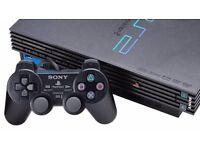 PS2 with some games