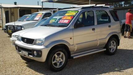 2004 Daihatsu Terios SX Wagon Weston Cessnock Area Preview