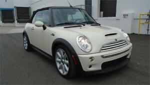 2007 MINI COOPER S-CONVERTIBLE,NO ACCIDENTS,2 TONE HEATED LEATHR