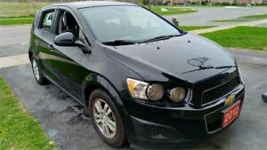 2012 Chevrolet Sonic LS-Gas Saver-Low Kms-comes certified