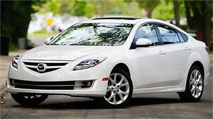 2009 Mazda Mazda6 GT LOADED , HEATED SEATS, BLUETOOTH,