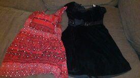 two girls dresses