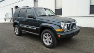2005 JEEP LIBERTY LIMITED 4X4 V6-LOADED,HEATED POWER LEATHER