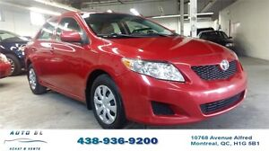 ***2010 TOYOTA COROLLA CE***AIR CLIMATISE/IMPECCABLE
