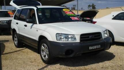 2003 Subaru Forester X Wagon Weston Cessnock Area Preview