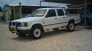 1998 Ford Courier XL 4X4 D/CAB! Weston Cessnock Area Preview