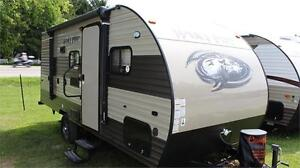 2017 CHEROKEE WOLF PUP 18TO - UNIQUE FAMILY TRAVEL TRAILER