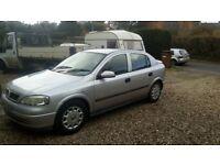 Vauxhall astra hatchback, 5 doors. Very cheap to run.
