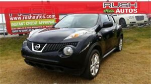 2012 Nissan JUKE SV AWD **LOW KM, CVT AUDIO, 4 WHEEL ABS**