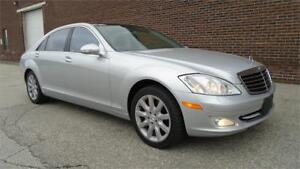 2007 MERCEDES-BENZ S550 LWB-LOADED EVERY OPTION,NAVI,PANO ROOF