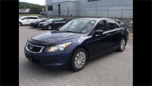 2008 Honda Accord Sdn LX auto 4cylinder certified
