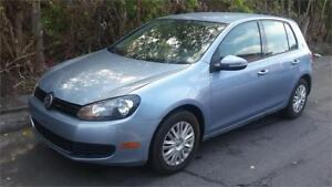 2012 VOLKSWAGEN GOLF AUTOMATIQUE EN EXCELLENTE CONDITION