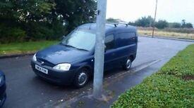 Vauxhall Combo van 1700 Di , Its a great van ........