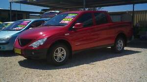 2007 Ssangyong Actyon Sports D/CAB TURBO DIESEL! Weston Cessnock Area Preview