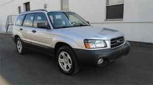 2004 SUBARU FORESTER 2.5X-POWER EVERYTHING,ZERO ACCIDENTS