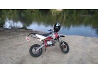 Stomp z 125 / 140cc road legal pitbike,pit bike