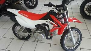 HONDA CRF110 USAGE