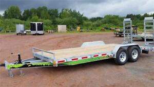 "Gator Equipment Trailers 83""x20ft 14k"
