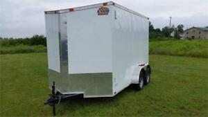 Enclosed Gator 7x12 cargo trailer