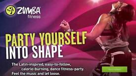 ZUMBA Fitness classes every Wednesday 8:00PM @ Dickens Heath Village Hall