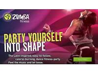 ZUMBA Fitness classes every Wednesday 8:00PM @ Dickens Heath Village Hall