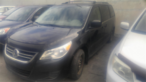 2009 VOLKSWAGEN ROUTAN AUTOMATIQUE 7PASSAGERS CAMERA DE RECUL