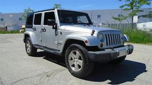 2008 JEEP WRANGLER UNLIMITED SAHARA-EVERY OPTION,SOFT TOP INCL.