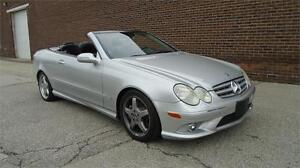 2006 MERCEDES-BENZ CLK500 AMG-LOADED,BEAUTIFUL CONVERTIBLE!!