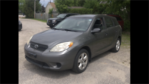 2005 Toyota Matrix XR auto certified