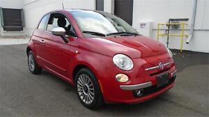 2012 FIAT 500 COUPE-LOW KMS, ZERO ACCIDENT, FULLY LOADED