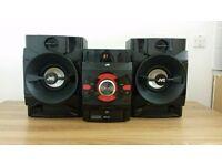 JVC MegaSound Hi-Fi System speakers