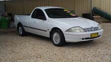2000 Ford Falcon AU 5 SPEED Ute Weston Cessnock Area Preview