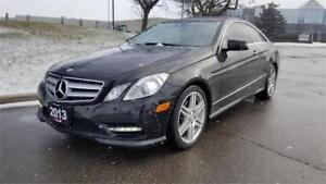 2013 Mercedes-Benz E350 Coupe 4M | 1 Owner | Red Interior | AMG