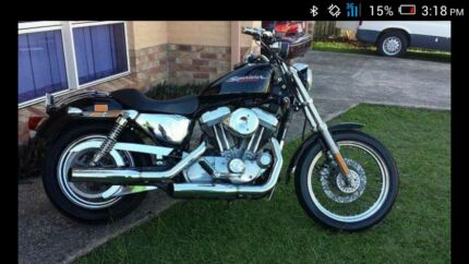 Harley Davidson sportster 883 custom 100th anniversary Beachmere Caboolture Area Preview