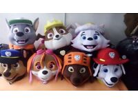 Adult DELUXE Fancy Dress Mascot Costumes Sky Chase Marshall Rubble Rocky Everest Zuma or Ryder