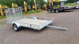 6x12 Galvanized Utility ATV Trailer