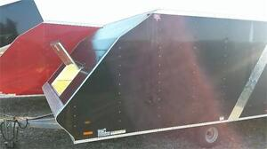 8.5ft x 12ft  Enclosed Snowmobile Trailer (RC PS POLAR)