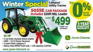 5055E TRACTOR, LOADER, CAB WINTER PACKAGE