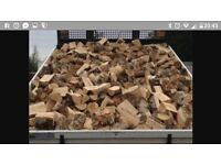100% seasoned hardwood logs