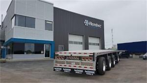 Flatbed et Drop Deck Reitnouer 2020