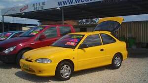 1999 Hyundai Excel Hatch MAKE AN OFFER! Weston Cessnock Area Preview