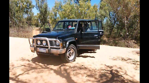 Gq Nissan patrol td28 95 7 seater Everard Park Unley Area Preview