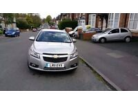 Chevrolet Cruze 1.6. UBER ready! 10m MOT and PCO.