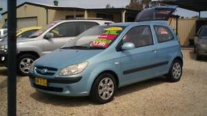 2008 Hyundai Getz Hatch BARGAIN! Weston Cessnock Area Preview