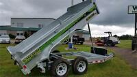 Dump Trailer - Gator Galvanized 6x12 10K Truro Nova Scotia Preview